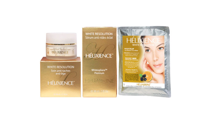 HELIABRINE Mature Skin and Anti-Brown Spot Range
