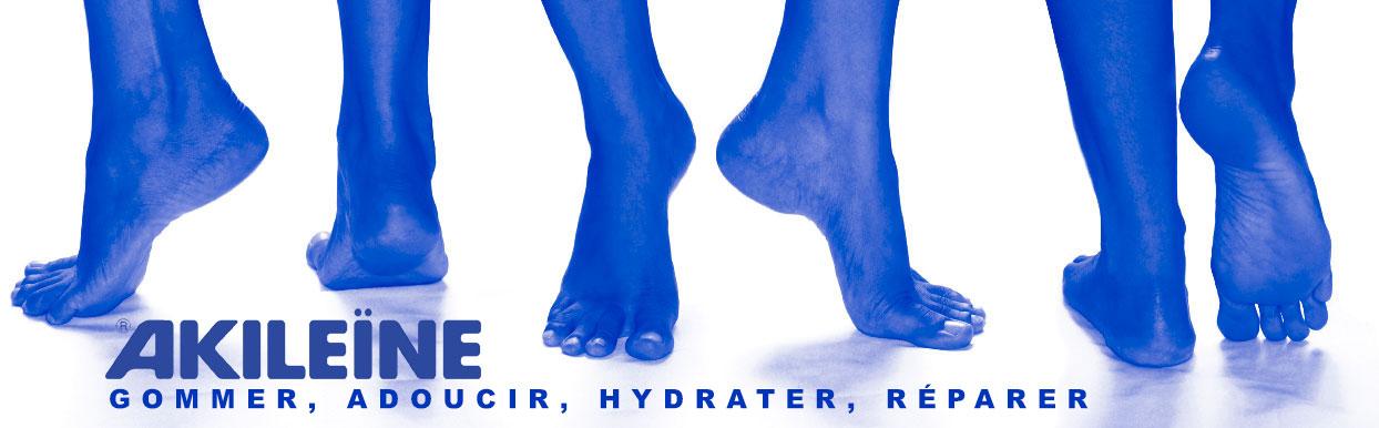 Ligne bleue, pieds secs et callosités