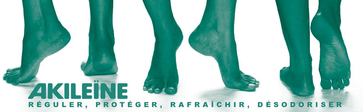 Ligne verte, transpiration, pied d'athlète, mycoses