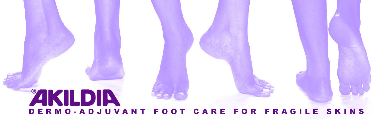 Akildia dermo-adjuvant foot care for fragile skins