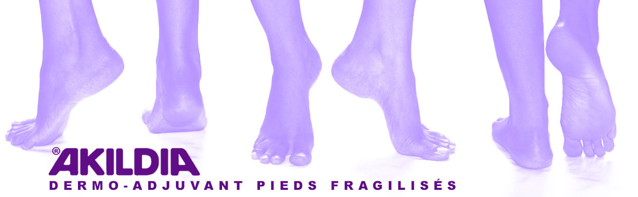 Akildia dermo-adjuvant pieds fragilisés