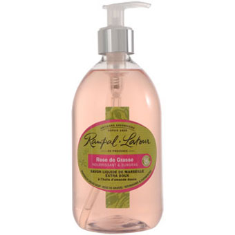 RAMPAL LATOUR 500ml Rose de Grasse Marseille Liquid Soap
