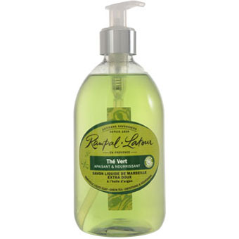 RAMPAL LATOUR 500ml Green Tea Marseille Liquid Soap