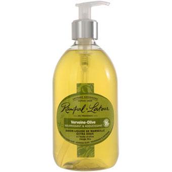 RAMPAL LATOUR 500ml Verbena-Olive Marseille Liquid Soap