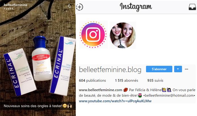 19 oct 2016 Belle et Feminine Instagram Stories