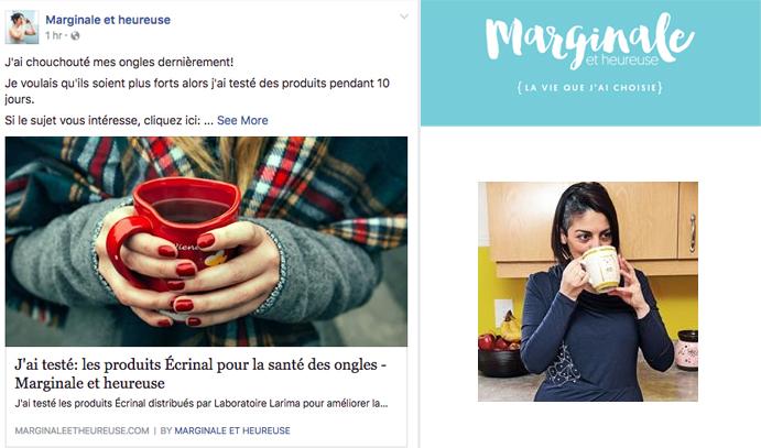8 nov 2016 Marginale et heureuse Facebook