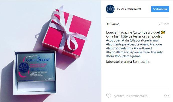 Coup dEclat Instagram Boucle Magazine