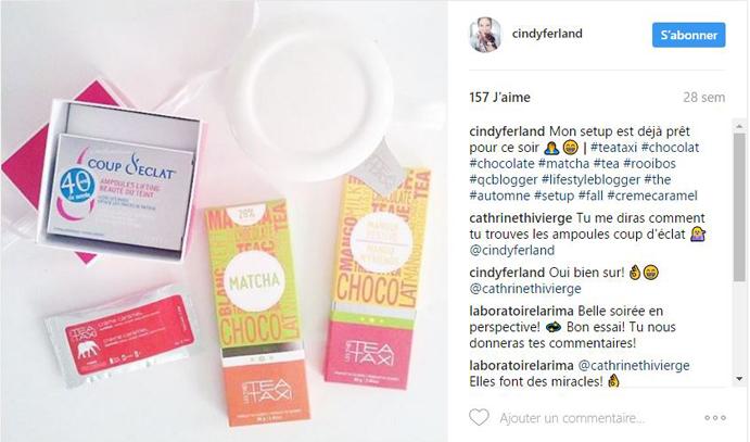 Coup dEclat Instagram Citron et Fleurs
