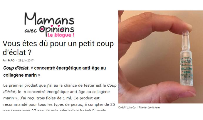 Coup d'Eclat Ampoule Collagene