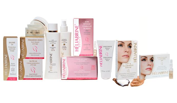 Heliabrine Dry and Dehydrated Skin Range