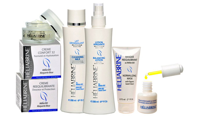 HELIABRINE Sensitive and Reactive Skin Range