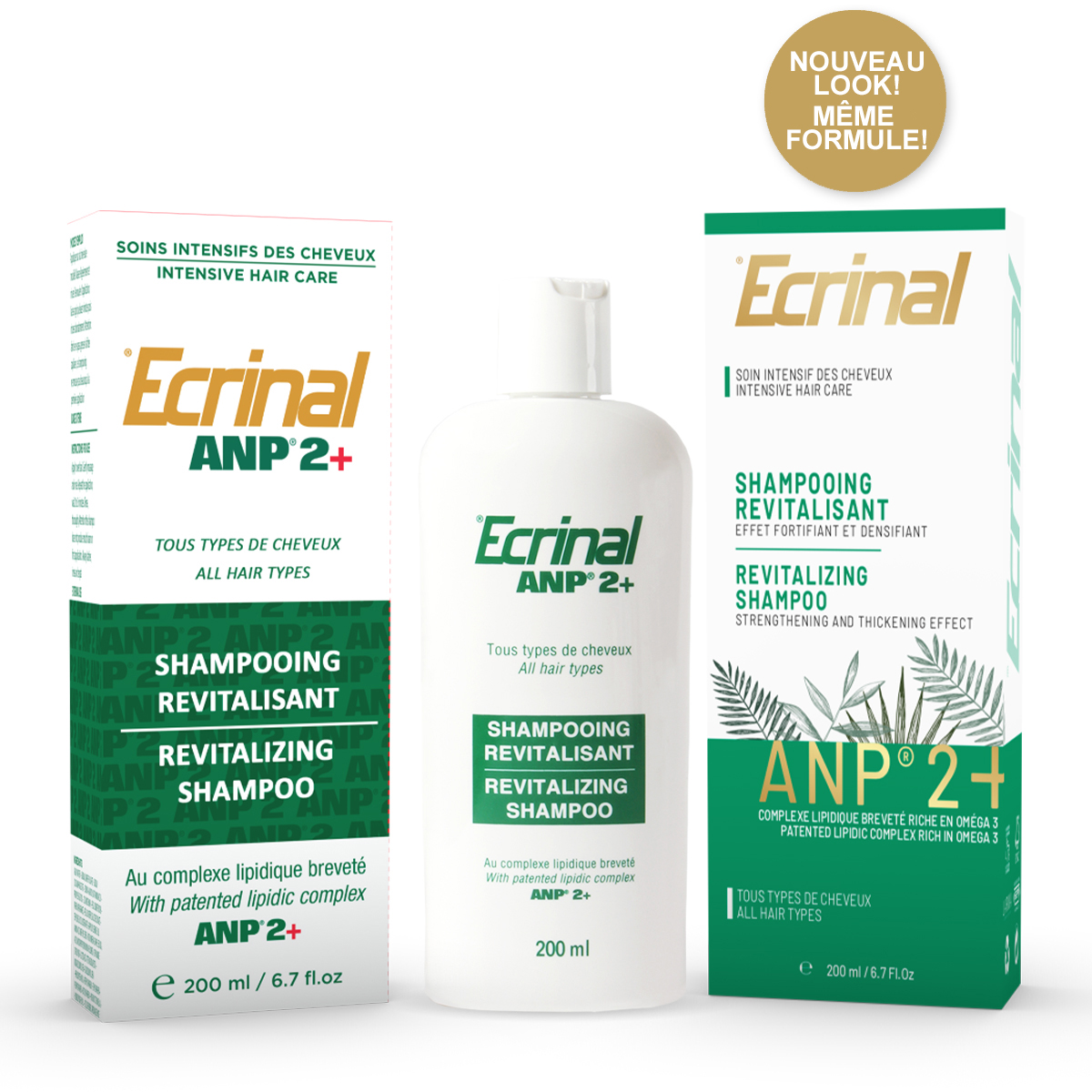 ECRINAL ANP2 + Revitalizing Shampoo