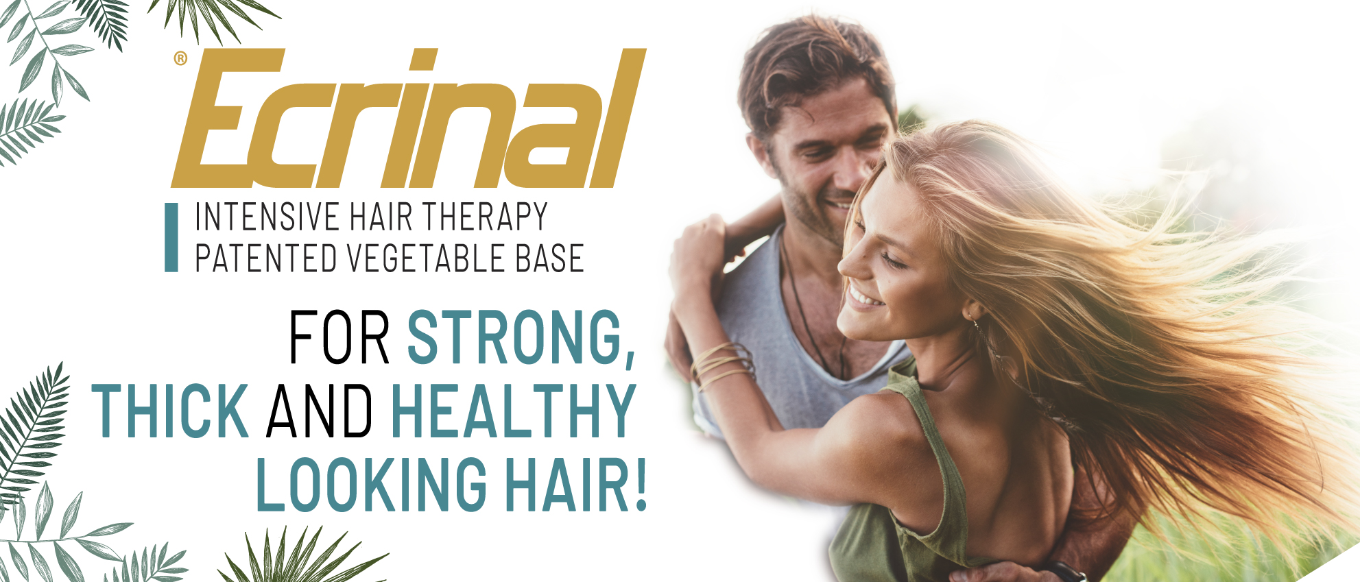 Ecrinal 50 years of Hair Treatment