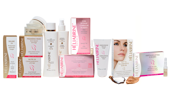 Heliabrine Dry and Dehydrated Skin Range