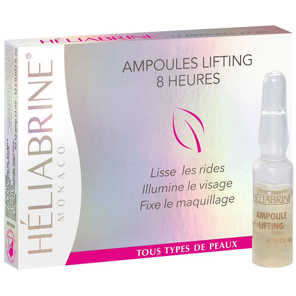 Heliabrine Ampoules Lifting 8H